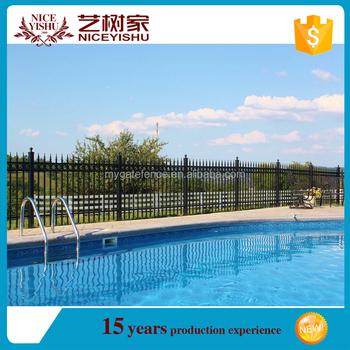 iron fence design/removable swimming pool safety fence/child safety pool  fence, View iron fence, YISHUJIA Product Details from Shijiazhuang Yishu ...