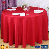 Fitted Cotton Washable Embroidered Red Wedding Party Table Covers Decorative Chair Cover