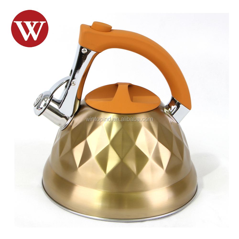 1,8 litros Hervidor para Whistling Kettle Inducción té Jarra