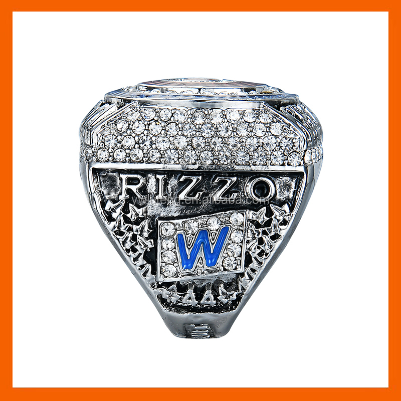 LT JEWELRY 2016 CUSTOM DESIGN 2016 CHICAGO CUBS WORLD SERIES BASEBALL CHAMPIONSHIP RING RIZZO WITH 44 REPLICA RIING