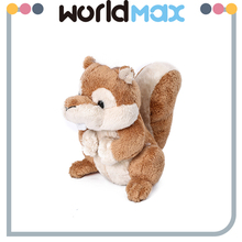 Funny Baby Stuffed Cute Present Squirrel Oem Custom Plush Toy