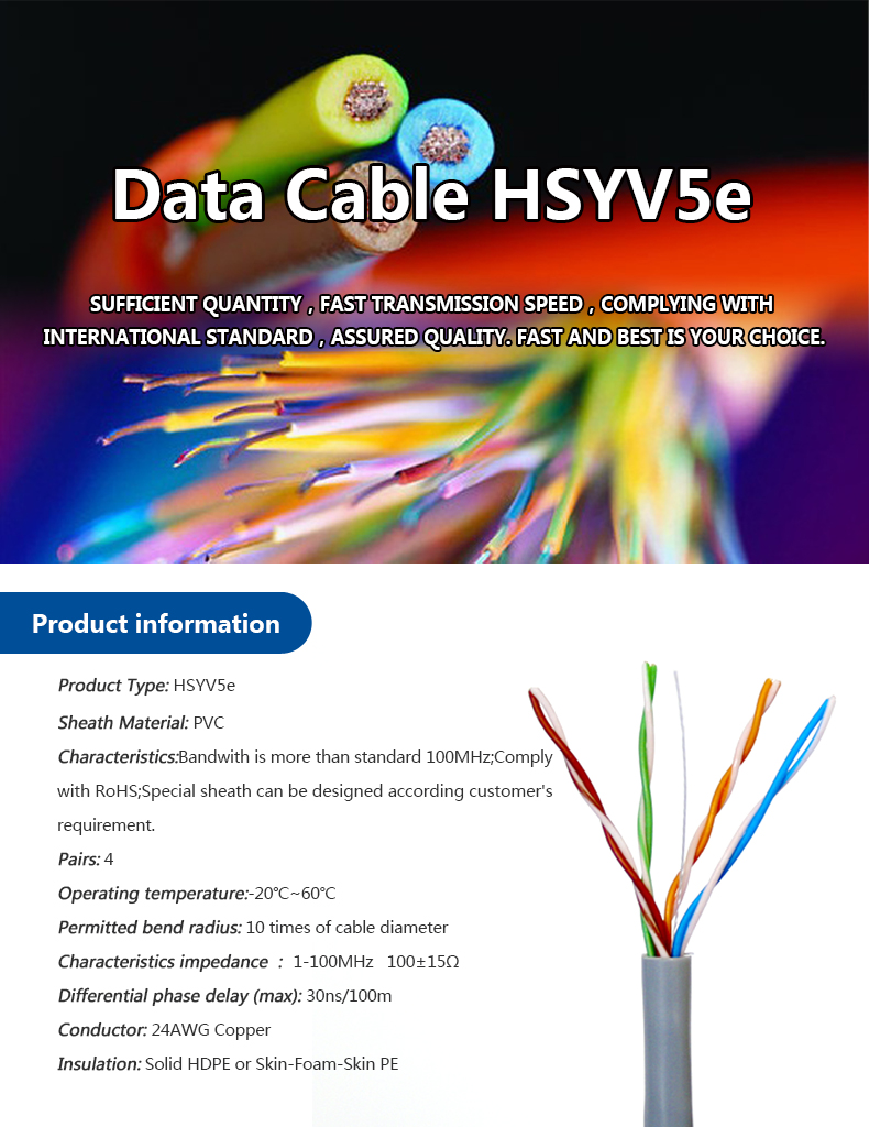 best price 4pr 24awg UTP FTP STP SFTP Cat 5e d-link network Lan Cable