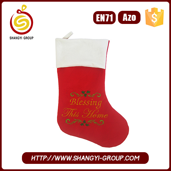 2016 Best Selling Promotional Gift Christmas Stocking Guangdong