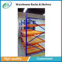 Pallet racking warehouse storage carton flow rack