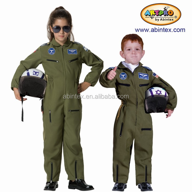 Air force pilot costume for kid (10-430) with ARTPRO brand