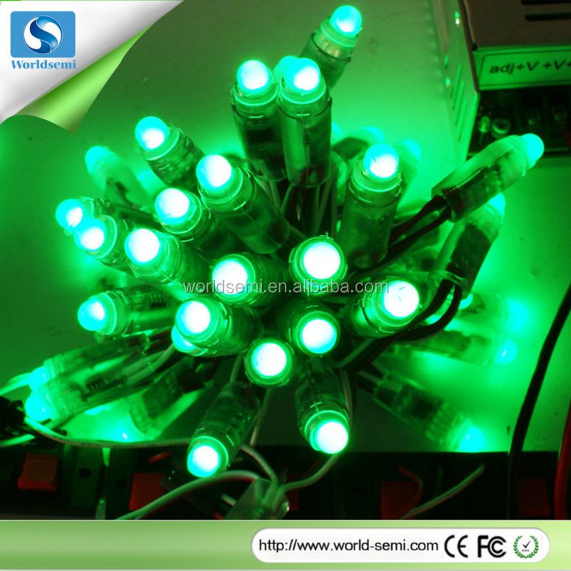 Ws2801 Ws2811 Ws2812 12mm Led Pixel Light Led Strip Light Outdoor