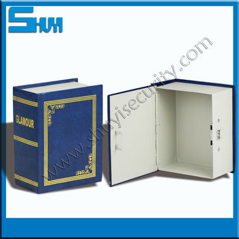 Decorative Book Safe Box With Combination Lock - Buy Book Safe Box,Book  Safety Lock Box,Decorative Book Safe Boxes Product on Alibaba com