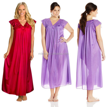Online Shopping Nighty Sweet Lady Nighty Gowns Women\'s Plus-size ...