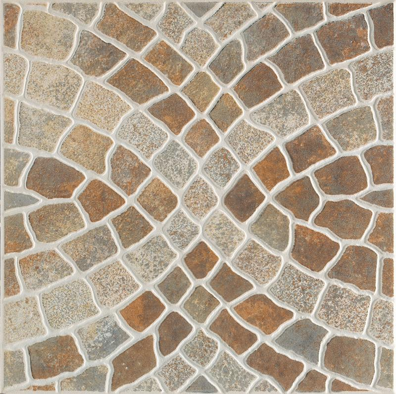 Courtyard Patio Rustic Floor Tile Patterns And Designs