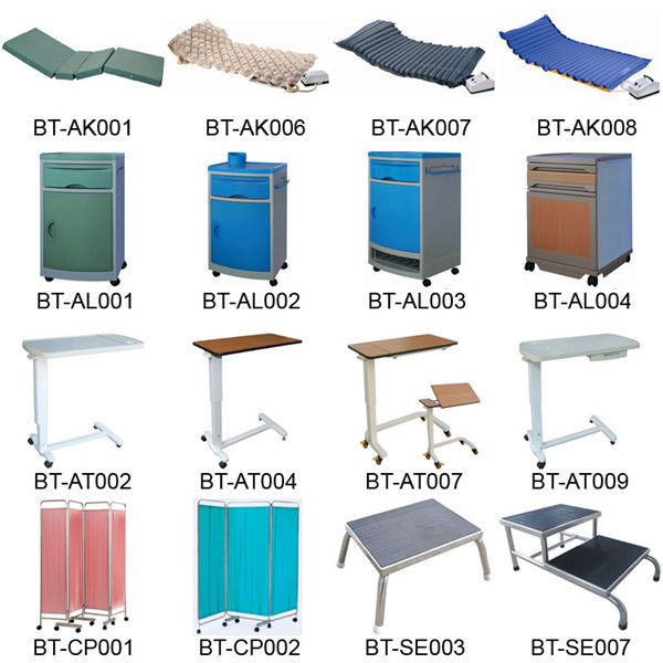 China Supplier Bt-at009 Hospital Furniture Abs Plastic Over Bed ...