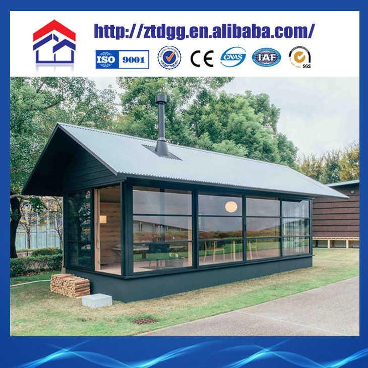 Newly designed low cost trapezoid shape buildings