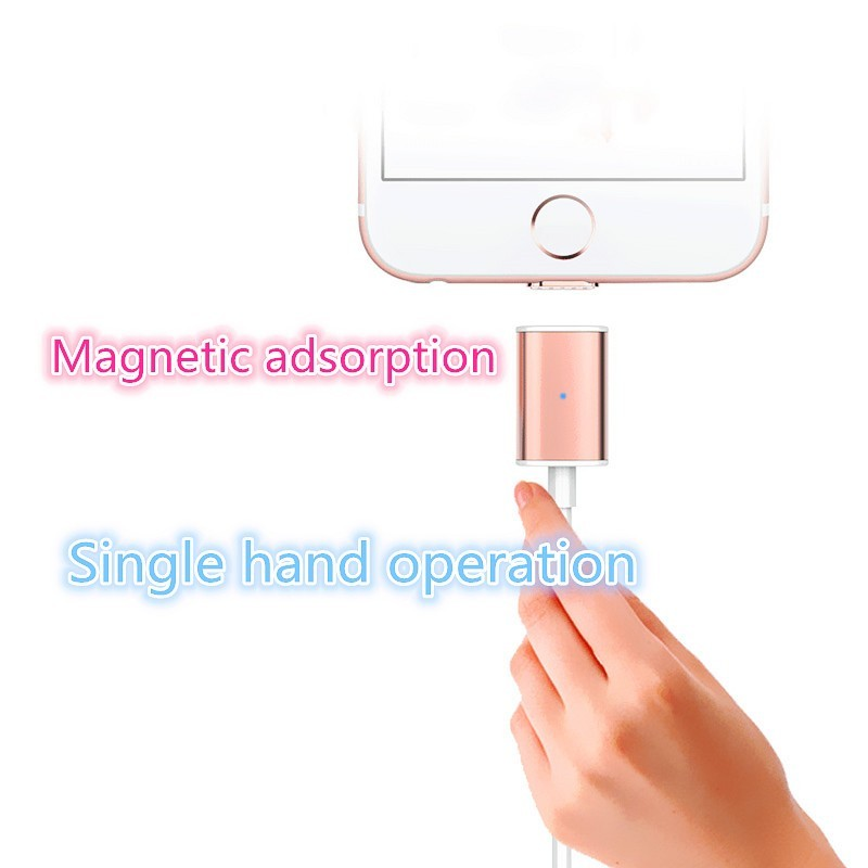 3 in 1 Magnetic Cable for HUAWEI Micro USB Type C Fast Charge 1M Nylon Sync Mobile Phone Charging Cables for IPhone X