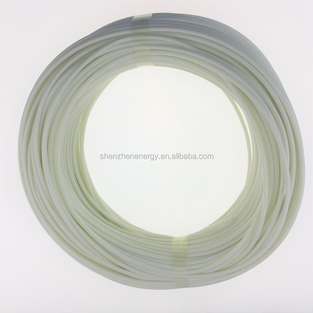 Wire harness Braided Fiberglass insulation silicone rubber tube ...