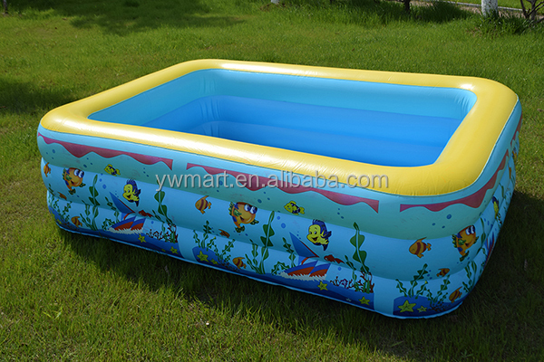 Plastik Pool best selling kids plastic swimming pool hard plastic inflatable