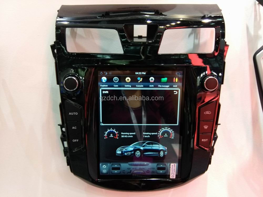 10.4 inch android car dvd player for nissa-n teana 2013-2015 tesla screen style quad core 32G WS-1017S
