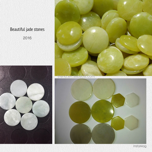 Natural Jade stone slices