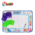educational toys kids aqua drawing water doodle mat with 10 set