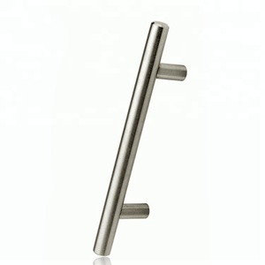 Golden Nickel Furniture Handle Hollow iron SS Aluminum Kitchen Cabinet T Bar Pull Cabinet Handle