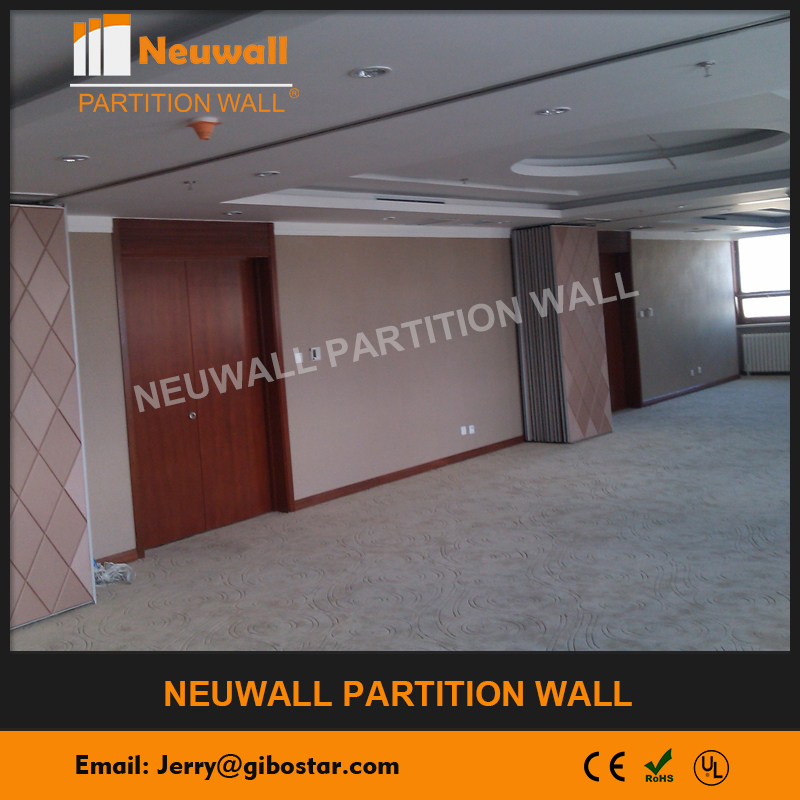 Acoustic Operable Wall For Hotel And Hall