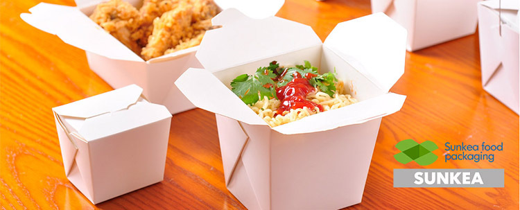 Chinese Food Packaging Takeout Food Pasta Box