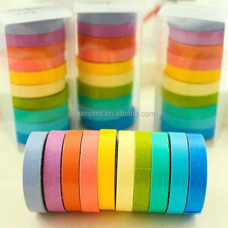 Polka Dot Colorful Beauty Printed Washi Masking Tape Use For ...