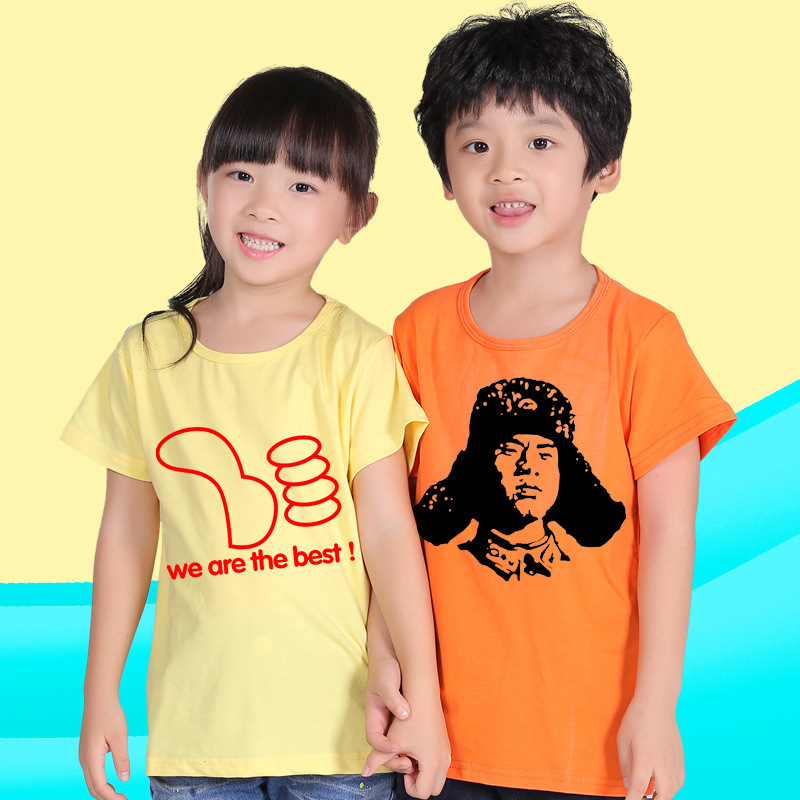 custom children t shirt print in china overseas diy t shirts