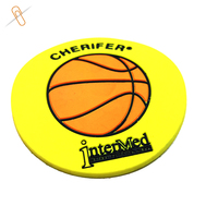2d Custom drink PVC coasters logo printing cheap promotional price 2d rubber pad