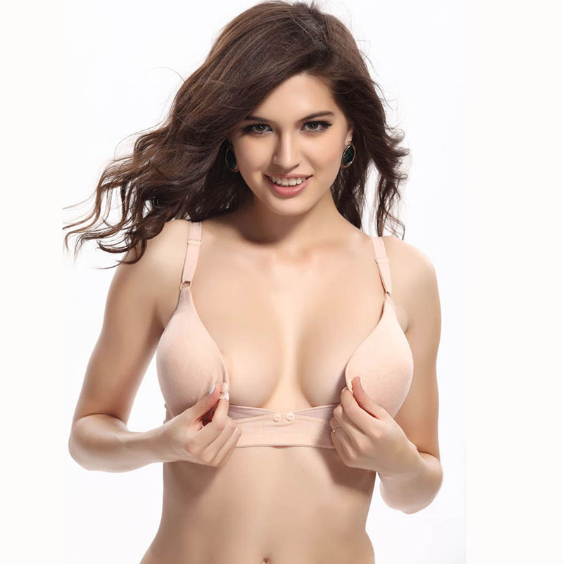 049b8c0b47248 Get Quotations · Sexy Push Up Nursing Bra Maternity Underwear Wire Free  Padded Lingerie Women Breast Feeding For Pregnant