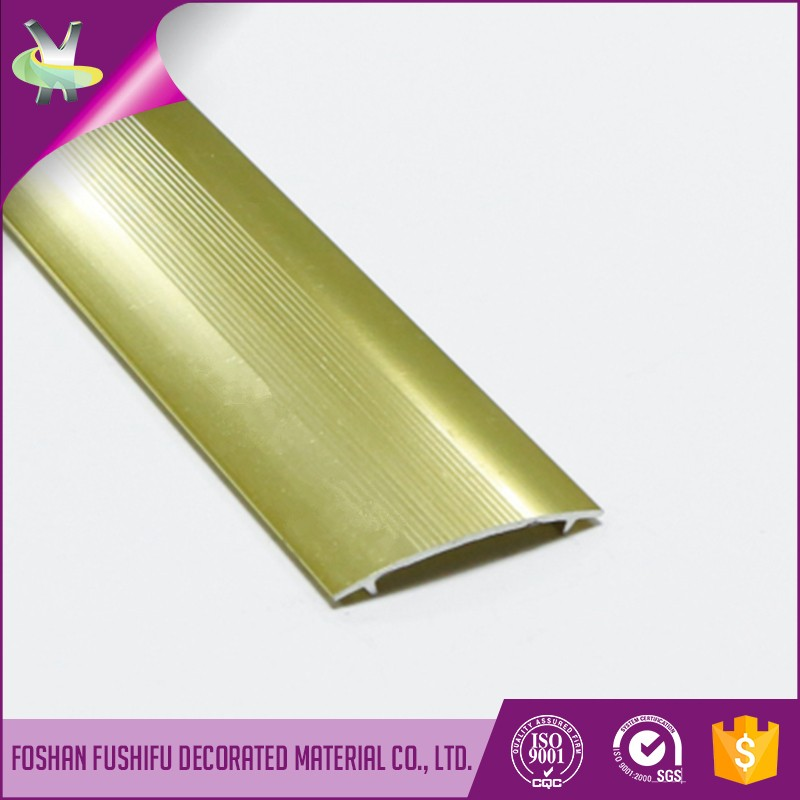 Home decoration golden aluminium carpet edge protector
