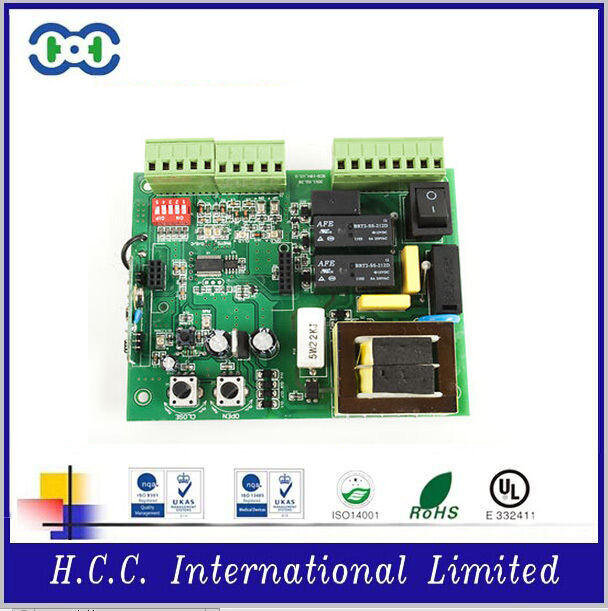 For America and European market : Automatic Gate for safe / control PCB circuit board / Gate control PCB supplier , EU008001