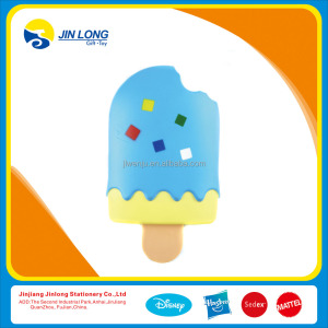 ice cream shape mirror and comb toy for girls.