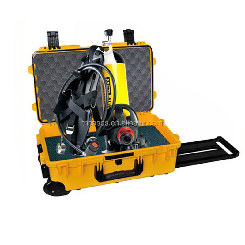 USA military safety protective <strong>case</strong> IP67 Waterproof <strong>hard</strong> plastic <strong>case</strong> Tricases M2500 trolley professional camera <strong>case</strong>