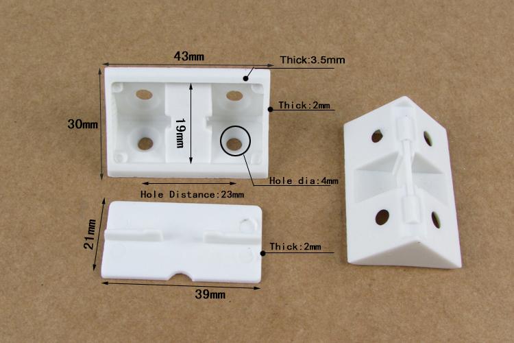 Kitchen Furniture Cabinet Plastic Wall Corner L Brackets Buy Plastic Wall Brackets Plastic
