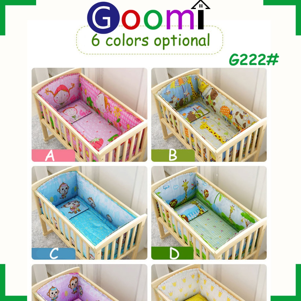 Multifunction G222# Goomi Furniture In GanZhou Home Use Pine Solid Wood baby cot design