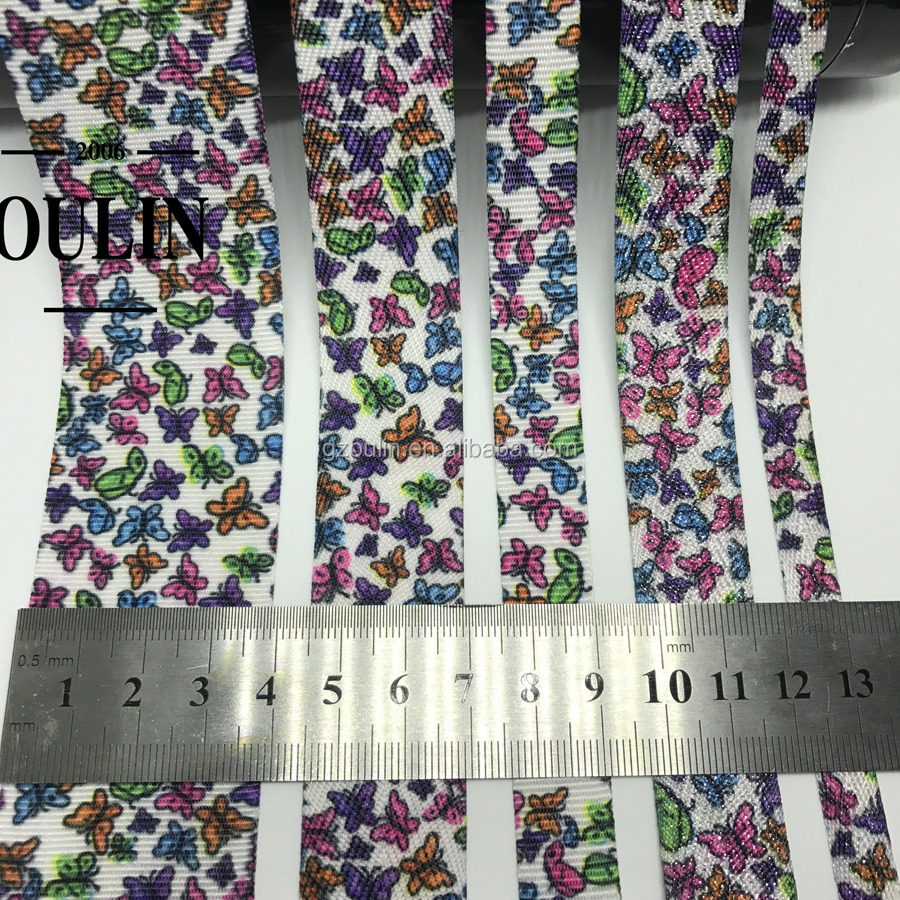 2019 new Cotton fabric tape material leopard printed tape deign hot selling fashion tapes