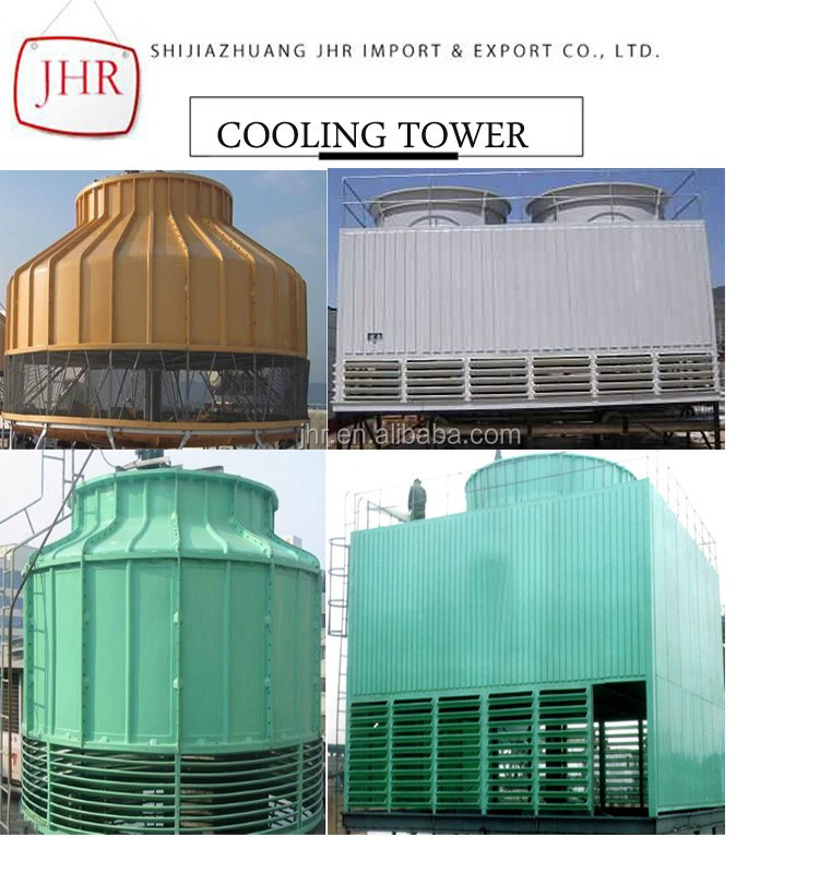 Type Frp Cooled Cooling Tower With Heat Resistant - Buy Cooling Tower ...