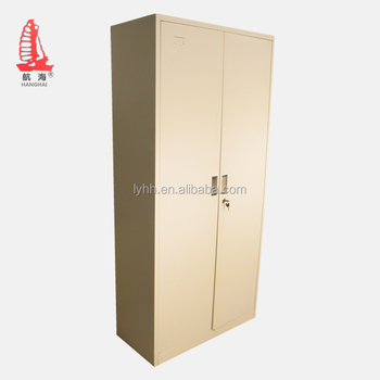 Adjule 4 Shelf Office Cupboard Steel Swing Door Filing Cabinet Metal Lockable