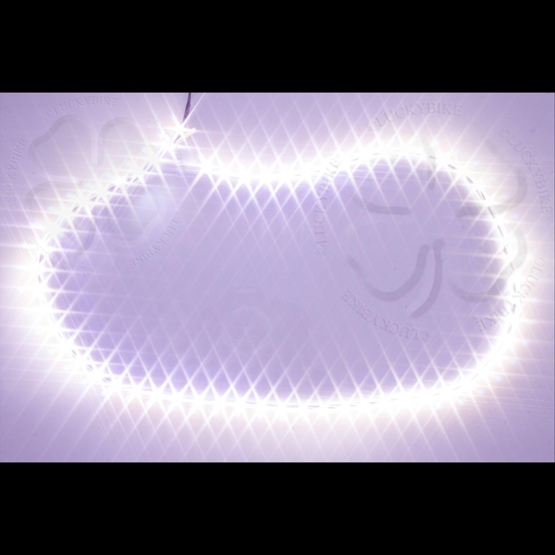 Lighting - Accent - Headlight LED Strip Kit - White DRL - 30 Inch x 6mm - Flexible Strip - 1 Pair