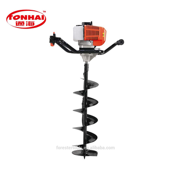 Th Ea5201 52cc Gas Powered Post Hole Digger For Tree Transplanting