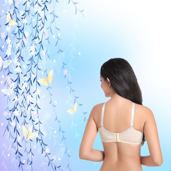 ONEFENG Cotton Bra Insert Silicone Breast Forms for Mastectomy Women Breast Cancer Bra