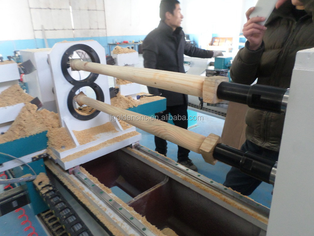 Cnc Wood Lathe/woodworking Machine/baseeuropean Quality Ce ...