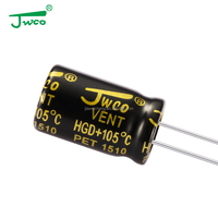 Through Hole Package Type hot sale 1uf 63v aluminum electrolytic capacitor