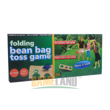 Wooden Folding Cornhole Game Bean Bag Toss Game