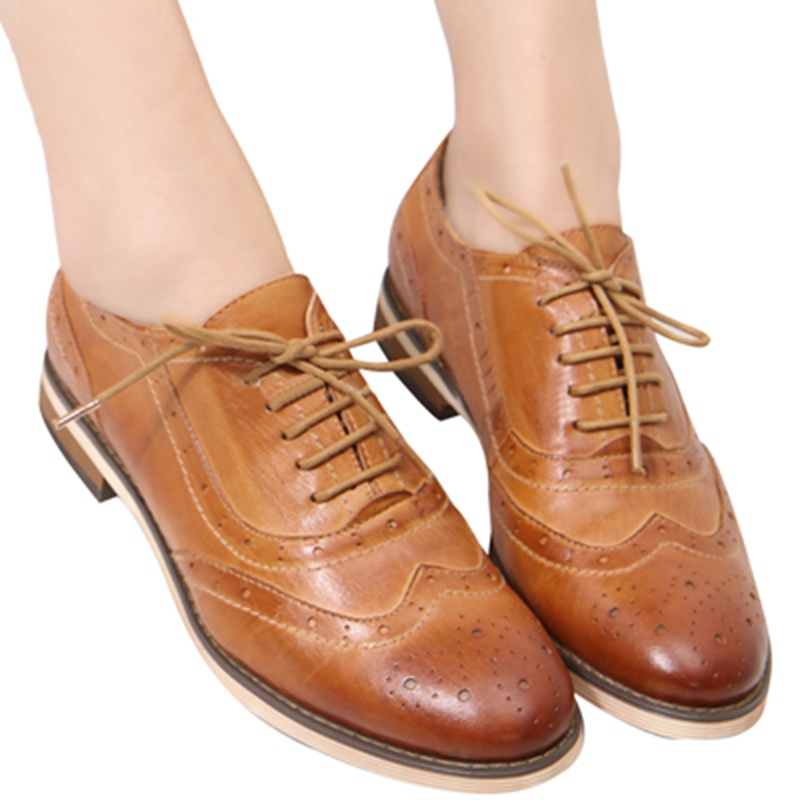 Ladies Oxford Shoes