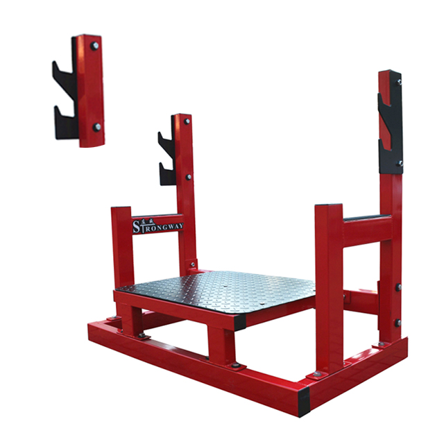 Q235 steel tube step up body building gym equipment