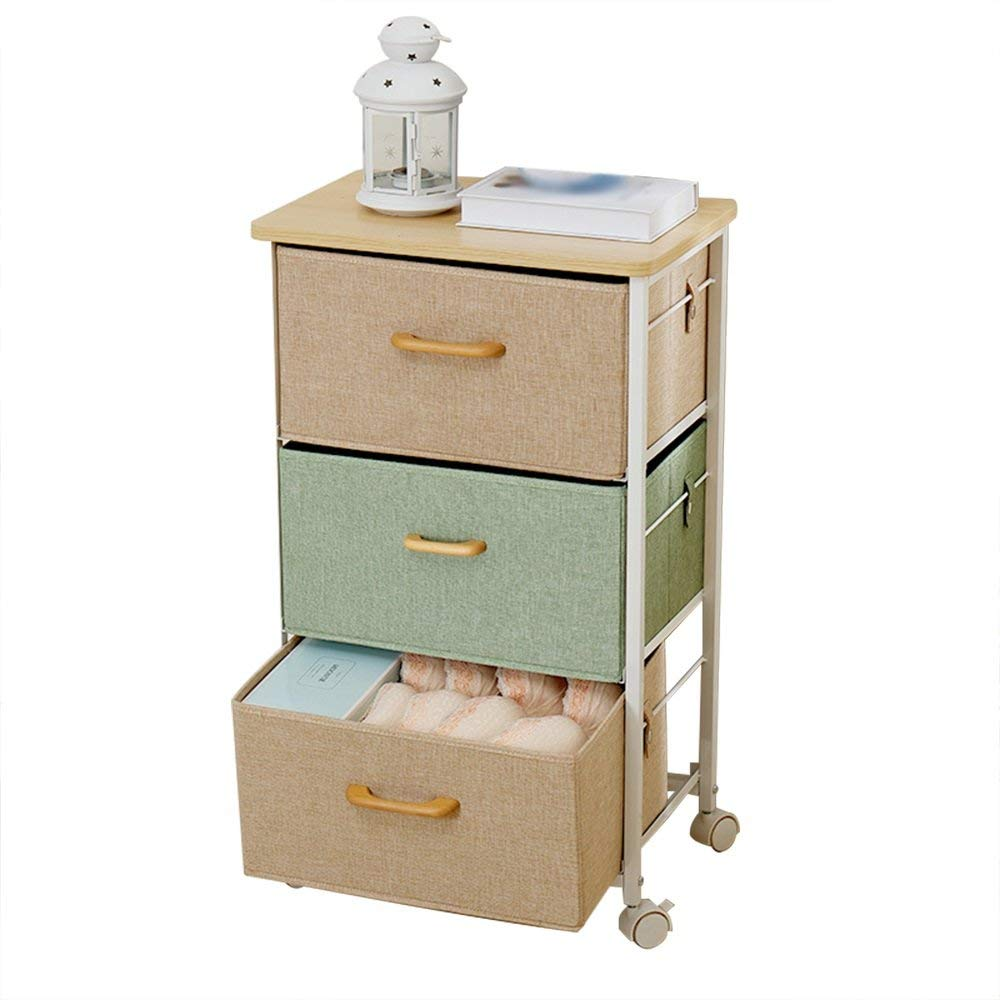 PM-Nightstands Bedside Cabinets Storage Lockers Multi-function Bedroom Bedside Cabinets (Color : B-453075)