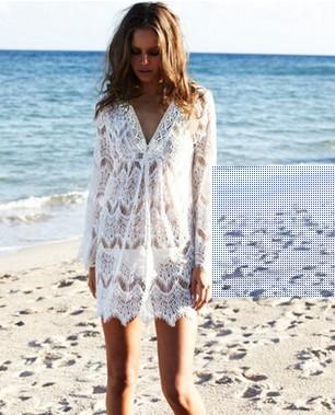 Summer Sexy Crochet Beach Cover Up  9ea7bfea6