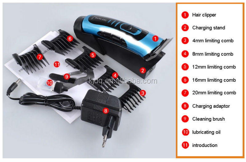 Rf-669 Bangzhu Hair Clipper Rechargeable Mini Babt Hair Clipper ...