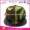 New Design Blank Sapback Cap Wholesale Fashion Custom Crocldile Skin Snapback Cap