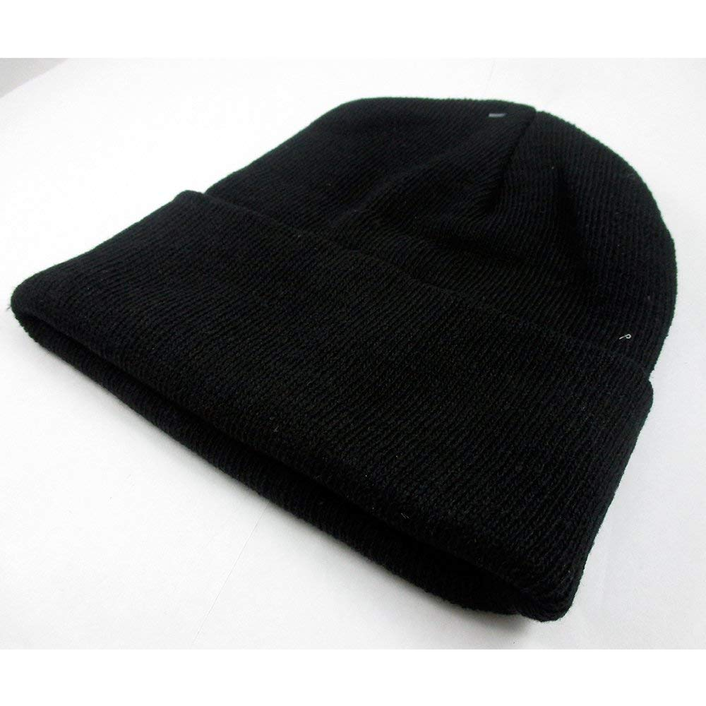 0fa1b288700 Buy 2Pc Plain Beanie Knit Ski Cap Skull Hat Warm Solid Color Winter Cuff  Blank Beany in Cheap Price on m.alibaba.com